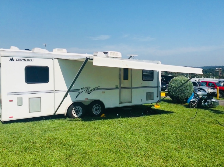 The One with the New Camper – The Wandering Lily